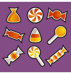 Halloween Candy vector image