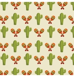 Icon cactus mexican design vector