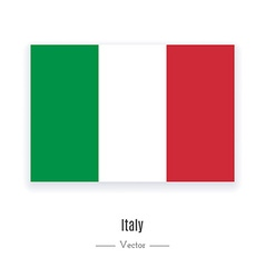 Italy Flag Icon vector image