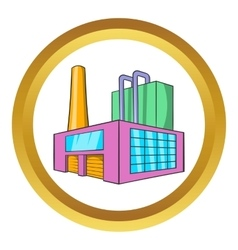 Large brewery icon vector
