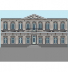 Old palace vector