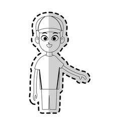 practice sport design vector image vector image