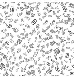 Old age pattern vector