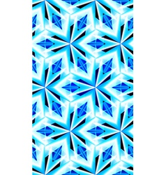 Seamless pattern with crystal texture vector image