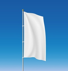 White flag stock vector