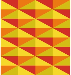 geometric pattern from triangle vector image vector image