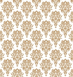 Royal wallpaper seamless floral pattern luxury vector