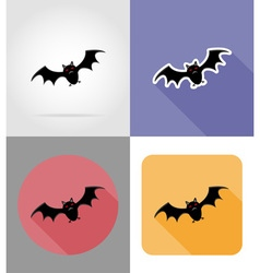 Halloween flat icons 07 vector