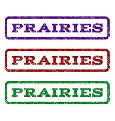 Prairies watermark stamp vector