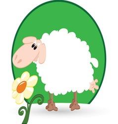 sheep resize vector image