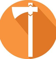 Viking axe icon vector
