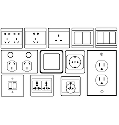 Switch and socket vector