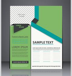 Business brochure flyer design layout cover vector
