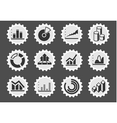 Information graphic icons vector