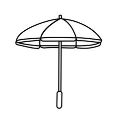 Parasol umbrella icon image vector