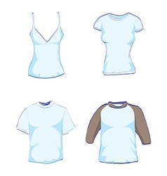 T-Shirts vector image vector image