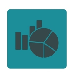 Charts icon vector