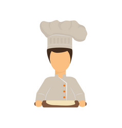 chef cartoon character vector image vector image