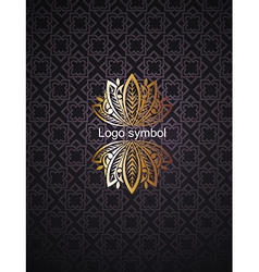 Floral Logo design vector image vector image