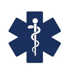 Medical symbol icons vector image vector image