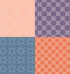 Bright Patterns vector image