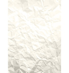 Crumpled paper pattern vector image