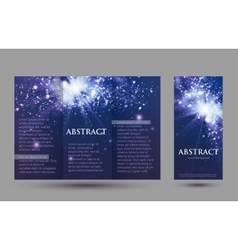 Design templates collection for banners flyers vector image vector image