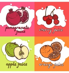 Fruit design concept vector