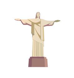 rio de janeiro skyline travel trip to brazil vector image