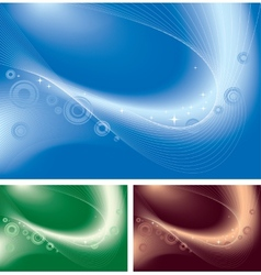 Abstract decorative background vector image