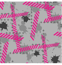 hipsters or emo seamless pattern vector image