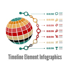 TimeLine 01 vector image vector image