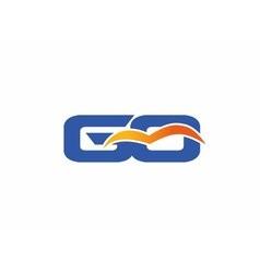 GQ letter logo vector image