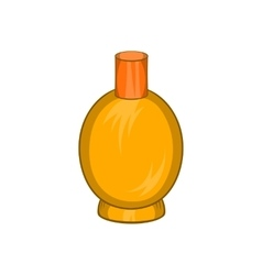 Packaging for perfume icon cartoon style vector
