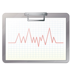 A medical nurse file with a record vector