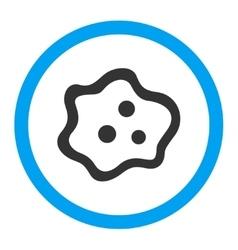 Amoeba rounded icon vector