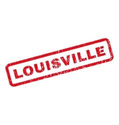Louisville rubber stamp vector