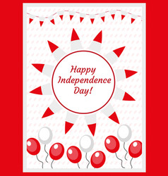 poland independence day templates for your design vector image