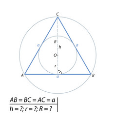 the task of finding the hypotenuse and the second vector image vector image