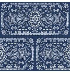 Tribal mexican vintage ethnic seamless pattern vector
