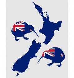 New Zealand's Kiwi vector image