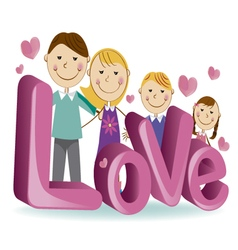 Family love 4 vector