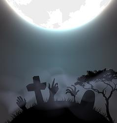 Halloween gravestone vector