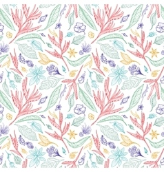 Tropical Sketch Pattern vector image