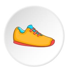 Boot icon cartoon style vector