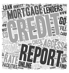 Www thecreditagency co uk online credit report vector