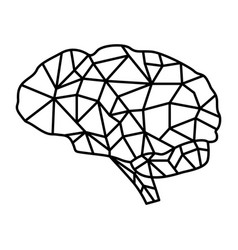 Brain crack vector
