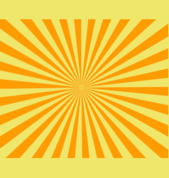 Sun raysold paper with stains - vector