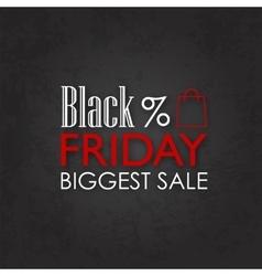 Black friday sale calligraphic designs vector