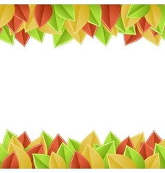 leaves autumn vector image vector image
